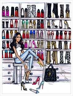 Shoe Closet by Hayden Williams| Be inspirational ❥|Mz. Manerz: Being well dressed is a beautiful form of confidence, happiness politeness