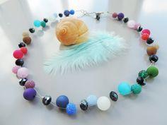 Glasketten - Regenbogen to go...... - ein Designerstück von Guggarella bei…