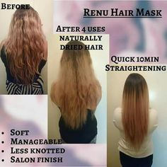 Hair mask, put the goodness back into your hair #nuskin #beauty #confidence