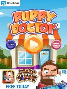 Puppy Doctor Main Menu: screenshots, UI