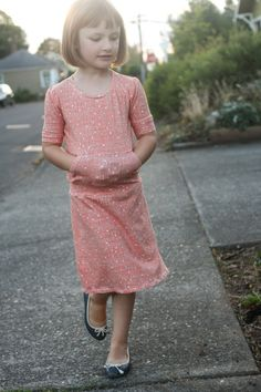 Dress Tutorial (w/ large pocket)