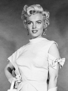 "Marilyn Monroe, costume test for ""There's No Business Like Show Business"", 1954."