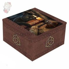 Nemesis Now Lisa Parker Witching Hour Mirror Box Lisa Parker, Fluffy Cushions, Mirror Box, Pagan Witch, Wiccan, Gaming Merch, Witch House, Jewellery Boxes, Bath Linens