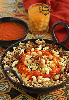 Kushari (Egyptian street dish), Despite its Indian origins, the Egyptians turned it into a culinary masterpiece; which eventually became a staple in the Egyptian cuisine. Aside from being prepared at home, it is also served at roadside stalls and restaurants all over Egypt, specially in Cairo.