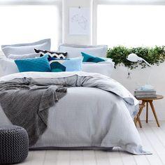 Home Republic Louis - Bedroom Quilt Covers & Coverlets - Adairs online ❤️ colour scheme