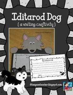 Iditarod Husky Dog Craftivity