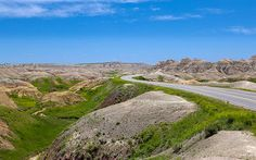 """Great #landscape #composition """"Driving The Badlands Loop"""" #photography by John Bailey"""