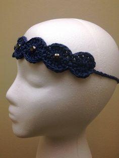 Denim headband by rainaroo on Etsy, $8.00