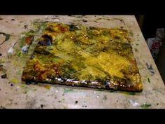 Encaustic Painting Shellac Burn.MP4 - YouTube