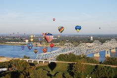 Natchez, Mississippi  I lived there for 7 years...the best of the old South.