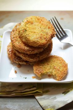 Fried Green Tomatoes - Grandbaby Cakes