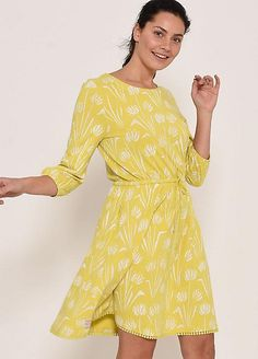 Brakeburn Water Reed Dress Dresses For Less, Casual Dresses, Fashion Dresses, Everyday Dresses, Summer Wardrobe, Lace Trim, Wrap Dress, Water, Pretty