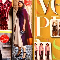 New Collection FW 2013 Shopping Vogue August - Abito in Twill  @SoAllure