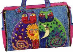 Travel Bag Celestial Felines By Burch, Laurel