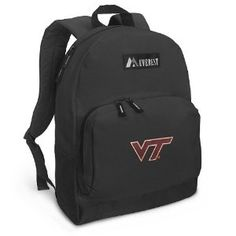 Virginia Tech Backpack Black Hokies for Travel or School Bags - BEST QUALITY Unique Gifts For Boys, Girls, Adults, College Students, Men or Ladies (Apparel)  http://www.99homedecors.com/decors.php?p=B001CW8QY2  B001CW8QY2
