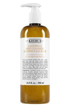 Kiehl's Since 1851 Calendula Deep Cleansing Foaming Face Wash for Normal-to-Oily Skin available at #Nordstrom