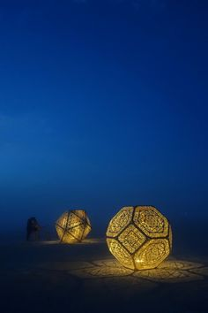 "littlelimpstiff14u2: ""        HYBYCOZO, or the Hyperspace Bypass Construction Zone, is a series of sublime, laser cut cosmic objects, ranging from a Burning Man art installation to design pieces for..."