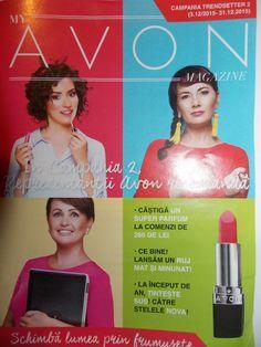 Catalog My Avon Magazine Campania 2 2016 ce ne va aduce in Anul Nou super programe motivationale, atat pentru reprezentanti cat si pentru lideri.