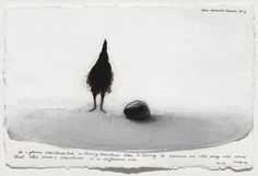 Nedko Solakov, Optimistic Stories, A series of 123 drawings, 2008-2009, sepia, black and white ink, and wash on handmade laid paper , each 7.48 x 11.02 in