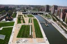 Madrid's Manzanares River