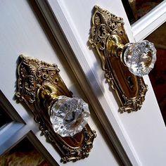 Fancy door knobs