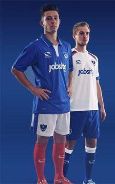 New Pompey Kit Portsmouth FC Sondico Shirts Home Away British Football, English Football League, Football Kits, Portsmouth, Home And Away, Sports, Tops, Soccer Kits, Hs Sports