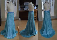 elsa skirt:: full tutorial