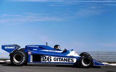 Jacques Laffite Ligier JS 7 - Matra 1978