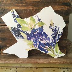 Texas Home Decor. Texas.  Texas Home Sign. Texas Bluebonnet. Bluebonnet Art. Texas Decor. Housewarming Gift. Texas Sign. by LovelyRetroRenos on Etsy https://www.etsy.com/listing/467008511/texas-home-decor-texas-texas-home-sign
