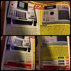 Found an old Musicians Friend catalog. Crazy to see how much the XL and 4K were going for back then.