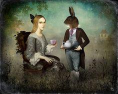 The Tea Party by ChristianSchloe