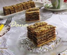 Recept za Е uster pitu. Posne Torte, Bosnian Recipes, Kolaci I Torte, Macaroons, Let Them Eat Cake, Caramel Apples, Cookie Recipes, Sweet Tooth, Bakery
