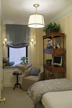 very inspiring TINY bedroom