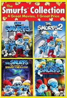 The Smurfs 2/The Smurfs/Smurfs: The Legend Of Smurfy Hollow/Smurfs Christmas Carol
