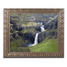 Trademark Fine Art 'Voices in the Distance' Canvas Art by Philippe Sainte-Laudy, Gold Ornate Frame, Size: 11 x 14, Multicolor