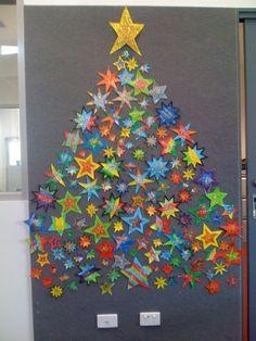 boom gemaakt van sterren