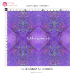 Purple Agate 1 yardage :https://www.crystalapertures.rocks/product/purple-agate-1-yardage/