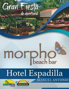 Enjoy an incredible meal at a beautiful place: Welcome to Morpho Beach Garden Beach Gardens, Beautiful Places, The Incredibles, Park, Parks