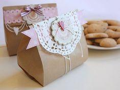 cute idea with brown bag
