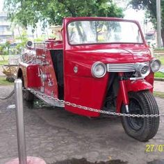 Fire Truck in Dumaguete, Philippines #OnlyinthePhilippines #Pilipinas #Pinoy