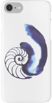 Cosima Niehaus Nautilus Shell iPhone 7 Cases