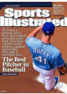 Danny Duffy, great pitcher. August 3, 2016