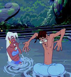 Atlantis, Milo and Kida Disney Pixar, Kida Disney, Walt Disney, Disney Couples, Disney Films, Disney And Dreamworks, Disney Animation, Disney Love, Disney Magic