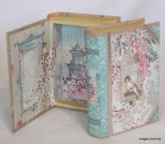 'Haiku Blossoms' Small Book Box. This is a great box for those small items: paper clips, push pins, etc., and classic enough to adorn your desk! Find it at www.imagesgoneby.com