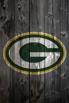 Green Bay Packers Wood Logo