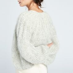 Then you say hi to the soft effect with been made by mohair yarn that can add the elegance and softness immediately for any knitting project. There are many tips that you can get and mohair knitting patterns free sweaters – of course. Things to. Bow Pattern, Cardigan Pattern, Sweater Knitting Patterns, Knitting Designs, Knit Patterns, Free Pattern, Knitting Sweaters, Free Knitting, Knitting Projects