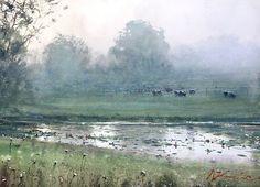 Joseph Zbukvic, art, painting, watercolors