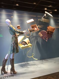 LK By Lincoln Keung - GUCCI Window Display - The Harbour City - Hong Kong