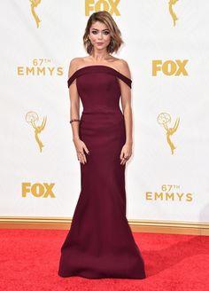 67th Annual Primetime Emmy Awards red carpet 2015: Sarah Hyland