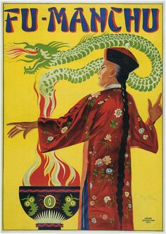 Shop Bamberg ~ Fu Manchu Magician ~ Vintage Magic Act Poster created by fotoshoppe. The Magicians, Custom Posters, Vintage Posters, Retro Posters, Poster Ads, Music Posters, Vintage Images, Vintage Art, Magic Show